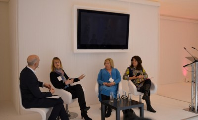 Jane Garner on discussion panel